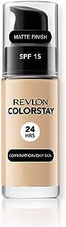REVLON レブロン リキッド ファンデーション カラーステイ メイクアップ ノーマル肌 混合肌用 30ml カラー:180 [並行輸入品]