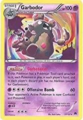 A single individual card from the Pokemon trading and collectible card game (TCG/CCG). This is of Holo Rare rarity. From the XY BREAKPoint set. You will receive the Holo version of this card.