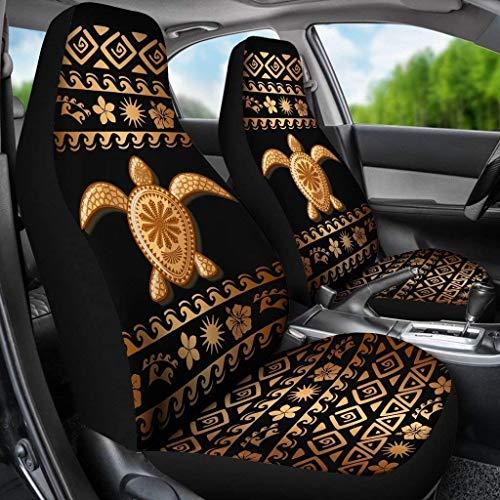 Pizding Juego de 2 fundas protectoras para asiento de coche, para maletero, furgoneta, sedán, SUV, decoración interior