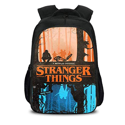Gymqian Stranger Things Children's School Bag Student Bag 3D Print Student Backpack Leisure/Five