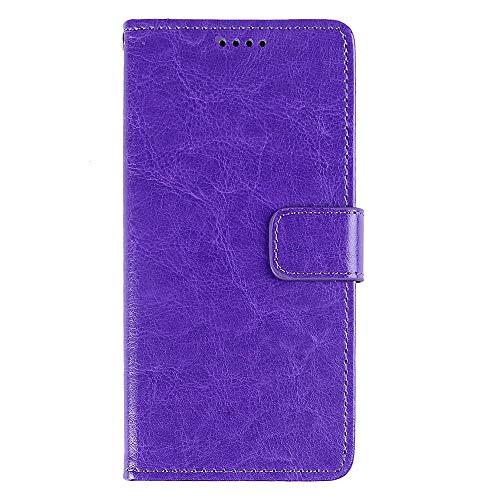 NEKOYA BQ Aquaris E6 Hülle,BQ Aquaris E6 Lederhülle,Handyhülle im Brieftasche-Stil für BQ Aquaris E6. Schutzhülle mit [Seidiges Gefühl][Standfunktion][Kartenfach][Magnetverschluss]