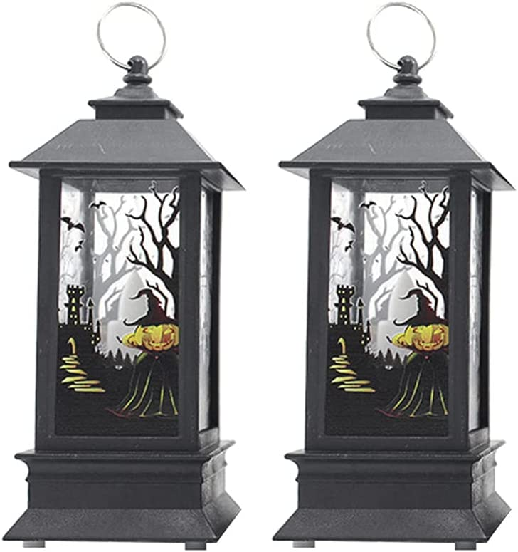 NUOBESTY 2pcs Halloween Wind Seasonal National products Wrap Introduction Exquisite Lantern