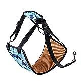 HM&CL 1 arnés de elevación para Perros y Mascotas, Soporte para Patas traseras, Ayuda para elevación, Ayuda para escaleras, arnés para cinturón (Azul)