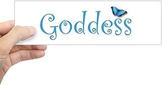 CafePress Goddess Bumper Sticker 10