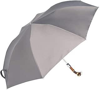 Dog Head Handle Creative Umbrella Semi-Automatic Umbrella Rain and Rain Umbrella Sun Umbrella Black, Gold, Gray Optional Huhero (Color : Gray)