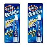 Bleach Pen, Dual-Tip Gel Formula - 2 PACK