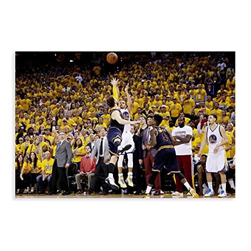 Stephen Curry - Póster de baloncesto americano de 3 puntos, 18 unidades, decoración de dormitorio, paisaje, oficina, decoración de habitación, regalo, 60 x 90 cm
