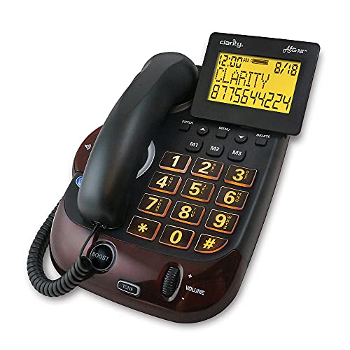 Clarity Alto Plus Big Button Amplified Corded Phone with Talking Caller ID