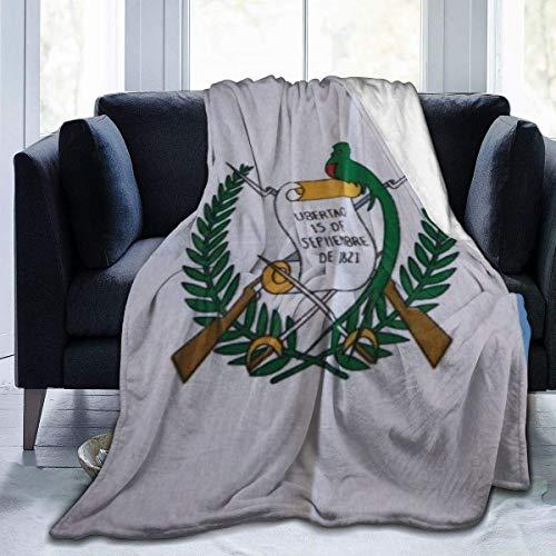 N  A Manta de franela, diseño retro de la bandera de Guatem