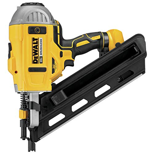 DEWALT DCN692B 20V Max Cordless 30° Paper Collated Framing Nailer, Tool...
