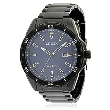 Citizen Watches Men's AW1585-55L Eco-Drive Black One Size