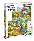 Puzzle Supercolor 2x20 Winnie The Pooh
