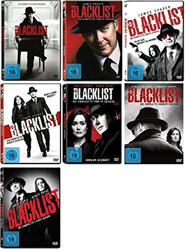 The Blacklist - Staffel 1-7 (40 DVDs)