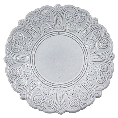 Faïencerie de Niderviller Grand Siècle Assiette à Pain et Apéritif Blanc 15,5 cm