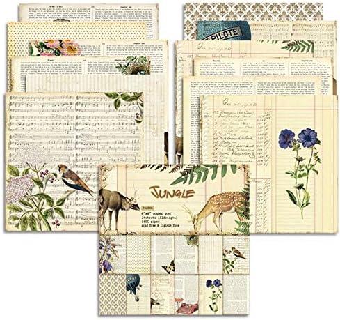 latest SELCRAFT New popularity Vintage Material Paper DIY Journal Scrapbooking Junk Ba