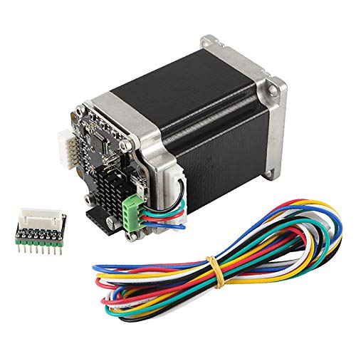 Jaimenalin Impresora 3D STM32 Motor Paso a Paso de Circuito Cerrado MKS SERVO57B con Adaptador para Conectar Directamente a la Placa Base Sin Pantalla