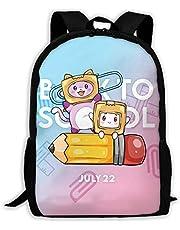 Bolsa de escuela Lankybox_Boxy Bapack unisex para senderismo, para niñas y niños y adolescentes