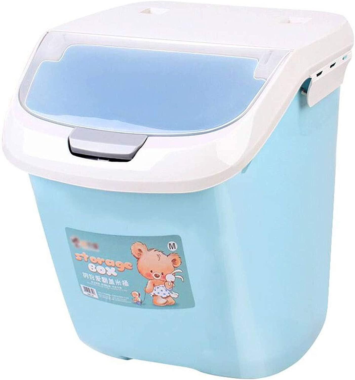 Lovingroy999 Food Storage Container Pet Dog Food Storage Container with Buckle Sealed Food Storage Box (Size   L)