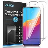 ELYCO Cristal Templado Protector de Pantalla para Ulefone Note 10, [2 Unidades] 9H Dureza, Antihuellas, Antiarañazos, Sin Burbujas, HD Protector de Vidrio Templado para Ulefone Note 10