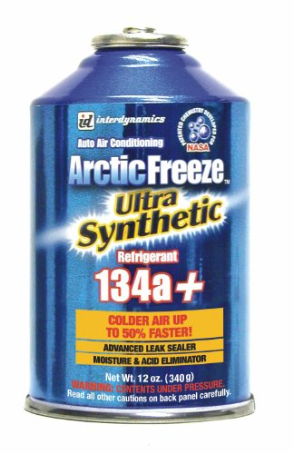Interdynamics (AF-3) Arctic R-134a Ultra Synthetic Freeze Refrigerant - 12 oz.