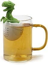 Thee-ei - Dinosaurusvormige theefilter Siliconen thee-ei Herbruikbare theezakjeszeef