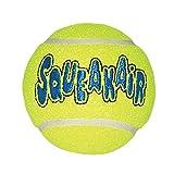 KONG Squeakair Ball - Pelota de Tenis Sonora para Perros de Raza Mediana