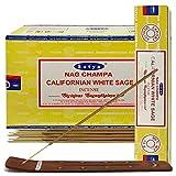California White Sage Incense Sticks And Incense Stick Holder Bundle Insence Insense Satya Incense