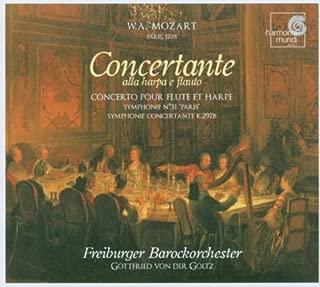 Mozart: Concerto for Flute & Harp, Symphony No. 31 Paris K 297, Symphonie Concertante K. 297b