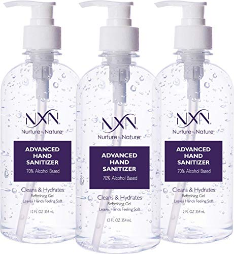NxN Beauty Advanced Hand Sanitizer Refreshing Gel, with 70%...