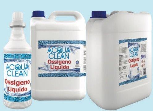 Flüssig-Sauerstoff Aqua Clean Pflege Wasser Behandlung Pool Liter 1 5 10 20 (1 Liter)