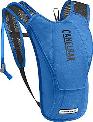 CamelBak HydroBak Crux Reservoir Hydration Pack, Carve Blue/Black, 1.5 L/50 oz