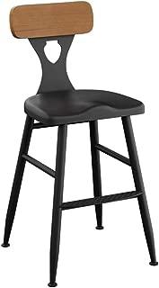 NMDB Tabourets Bar retro  chaises tabourets Dossier Bois comme tabourets Cuisine  Bars  Chaise creative tabourets Petit dejeuner  Taille 55cm