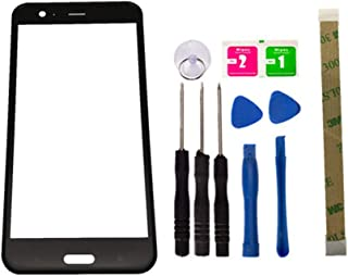 Replacement Screen Repair Front Outer Top Glass Lens Cover for HTC U11 Mobile Phone Parts and Adhesive Tools (No LCD and Touch Digitizer)