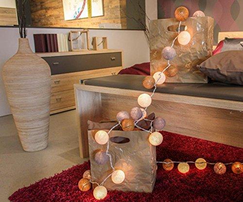 CREATIVECOTTON-LED-Lichterkette-mit-Cotton-Balls-inkl-Timer-und-Dimmer