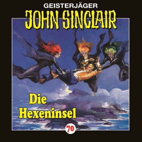 Die Hexeninsel audiobook cover art