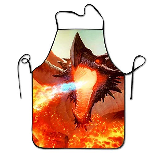 Drempad Schürzen Ancient Hellkite Dragon Magic The Gatherin Deluxe Aprons Personalized Printing Kitchen Apron