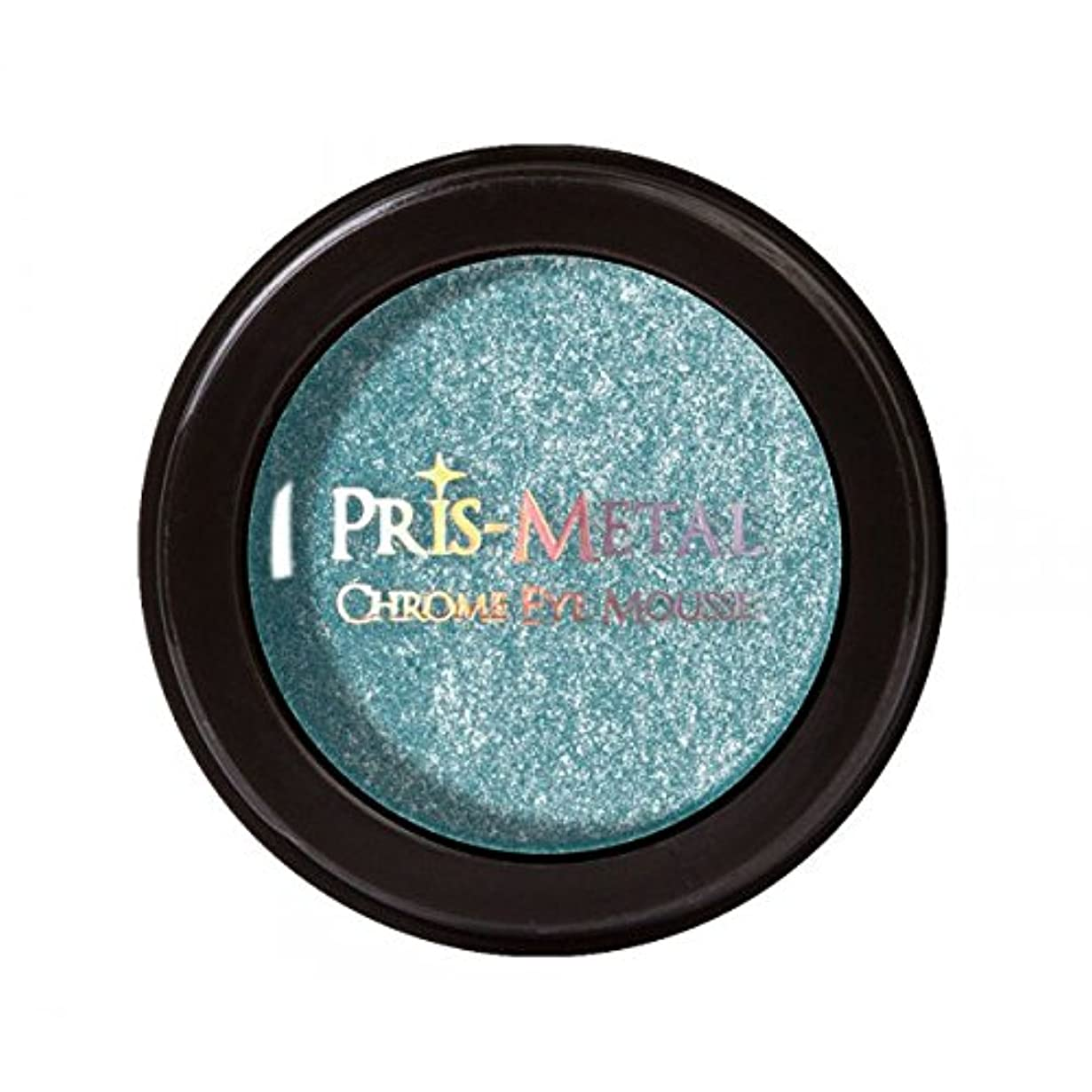 言うまでもなくリー疑問に思う(6 Pack) J. CAT BEAUTY Pris-Metal Chrome Eye Mousse - Below Zero (並行輸入品)