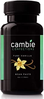 Vanilla Bean Paste | Cambie Confections Pure All-Natural Vanilla Bean Paste | For Bakers and Chefs | All Natural, Gluten F...