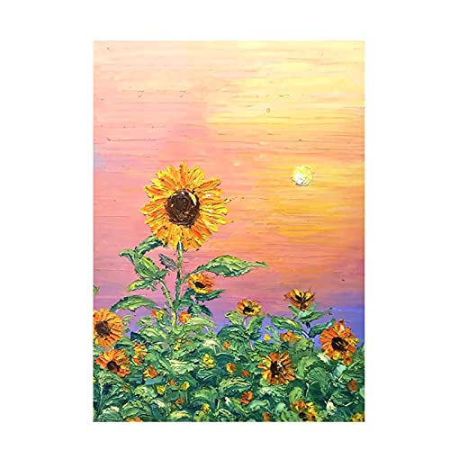Diamond Painting Kits for Adults Sunflowers Picture 5D Adult Diamonds Art for Kids Paint Accessories Full Drill Kit Crystal Rhinestone Embroidery Pictures Home Wall Decor 12 x 16 in