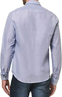Camisa social Regular simples Calvin Klein Masculino