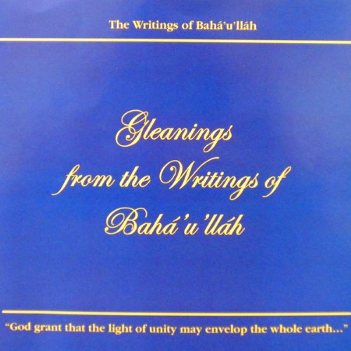 Gleanings from the Writings of Baha'u'llah Titelbild