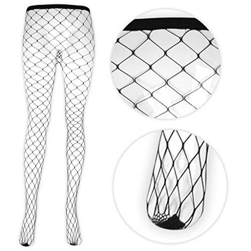 Adult Black Diamond Net Tights by Smiffys