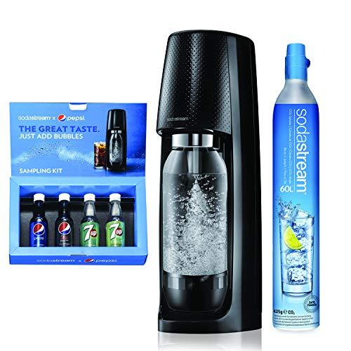Sodastream Machine à eau pétillante, Noire