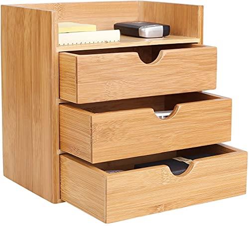 Schreibtisch Organizer Bambus...