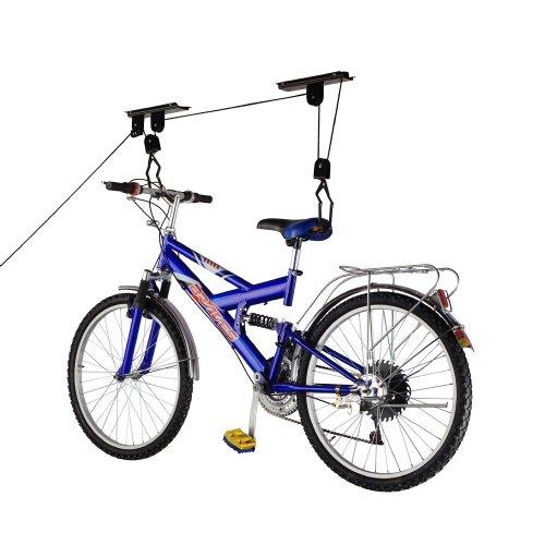 RAD Sportz Bicycle Hoist Quality Garage Storage Bike Lift with 100 lb Capacity Even Works as Ladder Lift Premium Quality