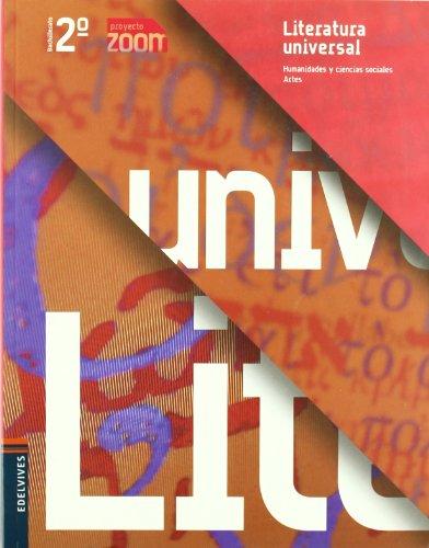 Literatura Universal 2º Bachillerato (Zoom) - 9788426369758
