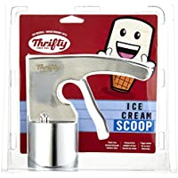 Thrifty Stainless Steel Cylindrical Ice Cream Scoop
