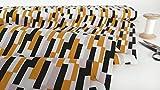 mollipolli-Stoffe Baumwollstoff Popeline Streifen schwarz