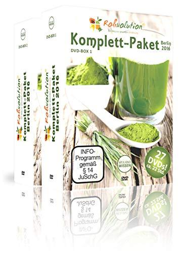 Rohkost Messe I Rohvolution Komplett-Paket Berlin 2016 I Florian Sauer, Urs Hochstrasser, Michael Delias, uvm. I 27 DVD