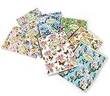 Con. 10 pz. 02088360Q Maxi p.m. NATURE FLOWERS FF. 40+2 carta interna riciclata 80 gr. , Quadretto 0Q , quadretti 5 mm con margine